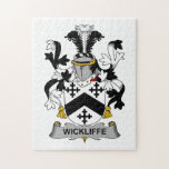 Escudo de la familia de Wickliffe Rompecabeza