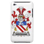 Escudo de la familia de Widenham Case-Mate iPod Touch Cárcasas