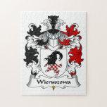 Escudo de la familia de Wieruszowa Rompecabezas