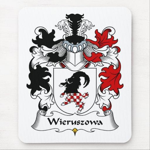 Escudo de la familia de Wieruszowa Tapete De Raton