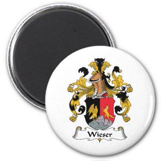 Escudo de la familia de Wieser Imán De Nevera