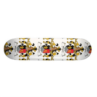 Escudo de la familia de Wieser Tablas De Skate