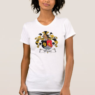 Escudo de la familia de Wieser Camiseta