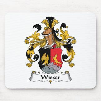 Escudo de la familia de Wieser Tapete De Ratones