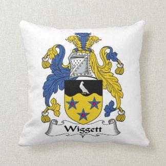 Escudo de la familia de Wiggett Almohadas