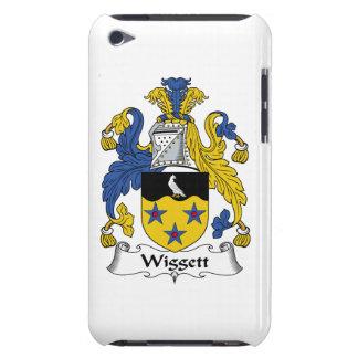 Escudo de la familia de Wiggett iPod Case-Mate Carcasas