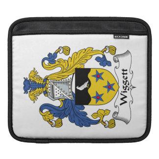 Escudo de la familia de Wiggett Funda Para iPads