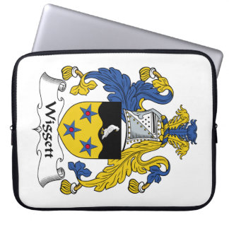 Escudo de la familia de Wiggett Fundas Portátiles