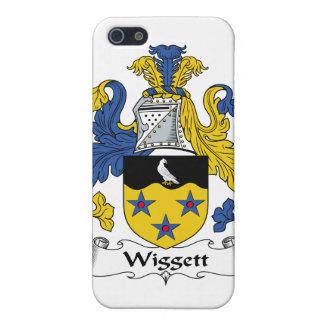 Escudo de la familia de Wiggett iPhone 5 Carcasa