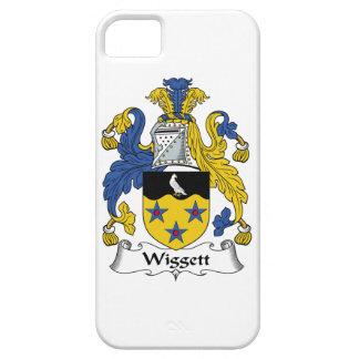 Escudo de la familia de Wiggett iPhone 5 Funda