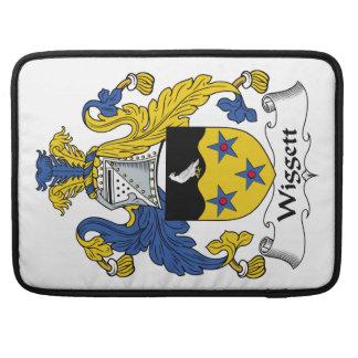 Escudo de la familia de Wiggett Funda Para Macbook Pro