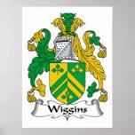 Escudo de la familia de Wiggins Impresiones