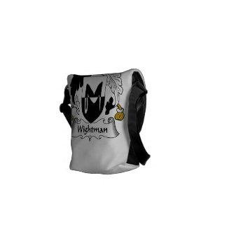 Escudo de la familia de Wightman Bolsa Messenger