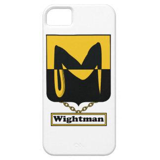 Escudo de la familia de Wightman iPhone 5 Protector