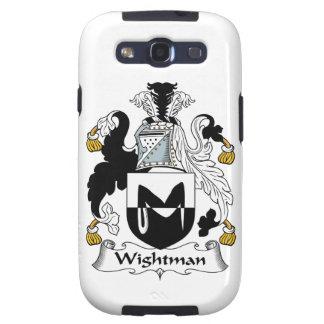 Escudo de la familia de Wightman Samsung Galaxy S3 Protector