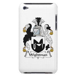 Escudo de la familia de Wightman Case-Mate iPod Touch Carcasa