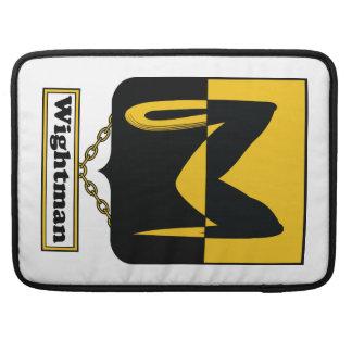 Escudo de la familia de Wightman Funda Para Macbook Pro
