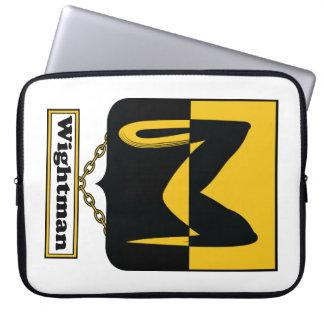 Escudo de la familia de Wightman Mangas Portátiles