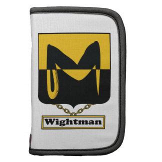 Escudo de la familia de Wightman Organizador