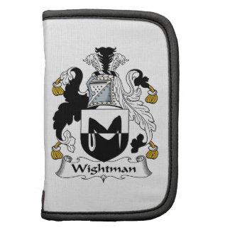 Escudo de la familia de Wightman Organizadores