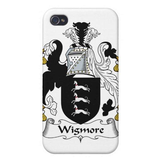 Escudo de la familia de Wigmore iPhone 4 Funda