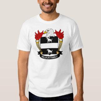 Escudo de la familia de Wilbur Camisas