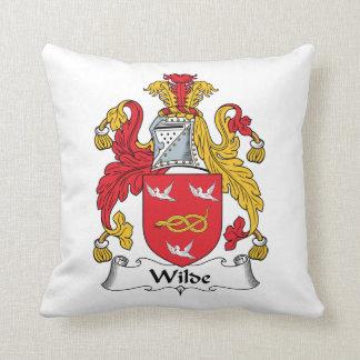 Escudo de la familia de Wilde Almohadas