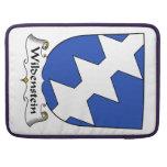 Escudo de la familia de Wildenstein Funda Para Macbook Pro