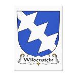 Escudo de la familia de Wildenstein Impresiones En Lienzo Estiradas
