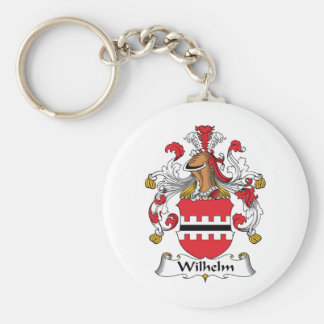 Escudo de la familia de Wilhelm Llavero Redondo Tipo Pin