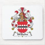 Escudo de la familia de Wilhelm Alfombrillas De Raton