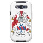 Escudo de la familia de Wilkie Samsung Galaxy S3 Carcasas