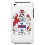 Escudo de la familia de Wilkie iPod Case-Mate Cobertura