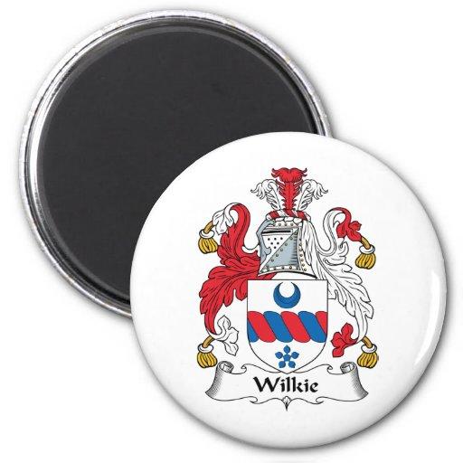 Escudo de la familia de Wilkie Imanes Para Frigoríficos