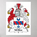 Escudo de la familia de Wilkie Impresiones