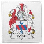 Escudo de la familia de Wilkie Servilletas De Papel