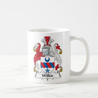 Escudo de la familia de Wilkie Taza Clásica