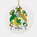 Escudo de la familia de Wilkins Adorno Para Reyes
