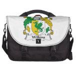 Escudo de la familia de Wilkins Bolsa De Ordenador