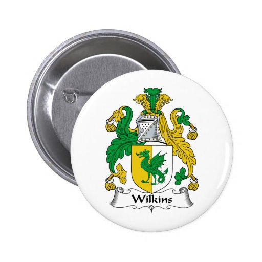 Escudo de la familia de Wilkins Pin