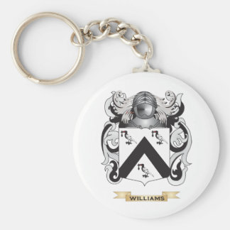 Escudo de la familia de Williams (escudo de armas) Llavero Redondo Tipo Pin