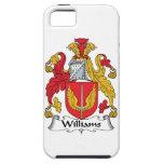 Escudo de la familia de Williams iPhone 5 Case-Mate Cárcasas