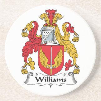 Escudo de la familia de Williams Posavasos Personalizados