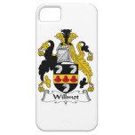Escudo de la familia de Willmot iPhone 5 Case-Mate Carcasa