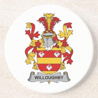 Escudo de la familia de Willoughby Posavaso Para Bebida