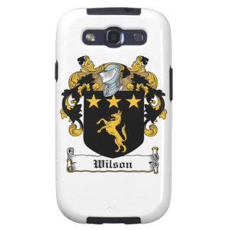 Escudo de la familia de Wilson Samsung Galaxy S3 Fundas