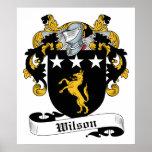 Escudo de la familia de Wilson Impresiones