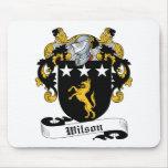 Escudo de la familia de Wilson Tapetes De Ratón