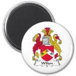 Escudo de la familia de Wilton Imán De Nevera