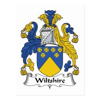Escudo de la familia de Wiltshire Postal